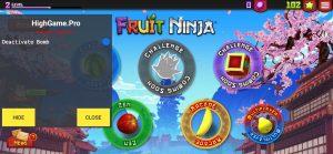 Fruit Ninja® APK Mod Ver. 3.2.3 | Deactivate Bomb | Removed ADS | Menu Mod - Screenshot